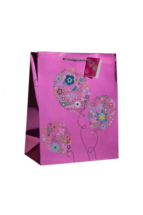 Пакет подарочный Воздушные шарикиСувениры и упаковка<br>18*10*22.7см, бум., глянцевый<br>