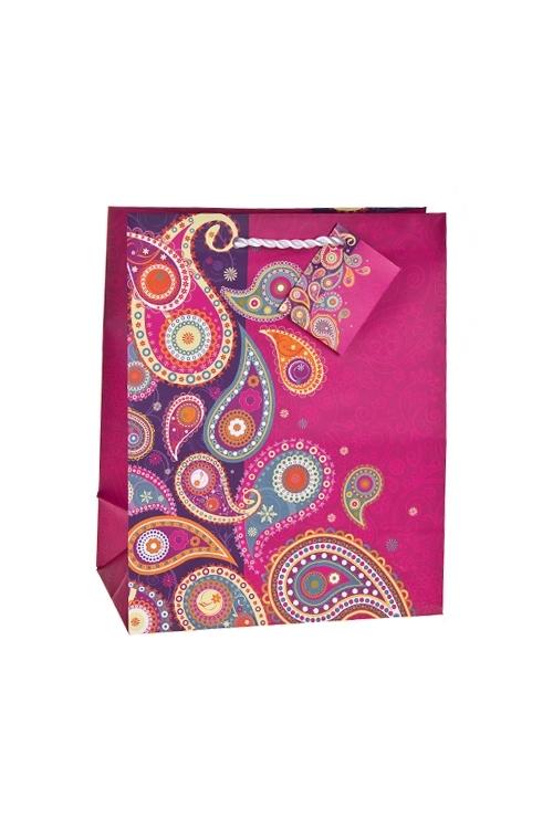 Пакет подарочный Яркие огурцыСувениры и упаковка<br>18*10*22.7см, бум., матовый<br>