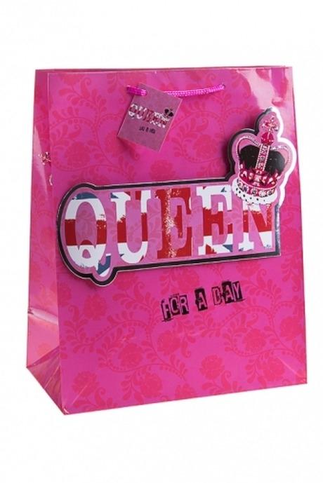 """Пакет подарочный """"Королева на день"""""""