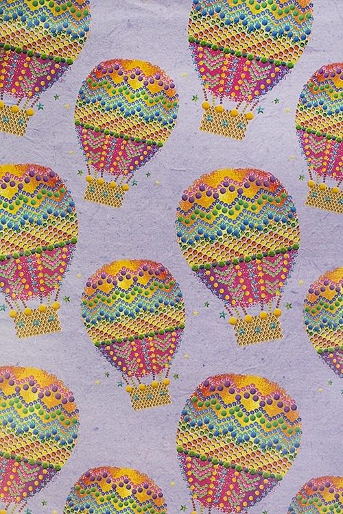 Бумага упаковочная Воздушный шарСувениры и упаковка<br>70*100см<br>