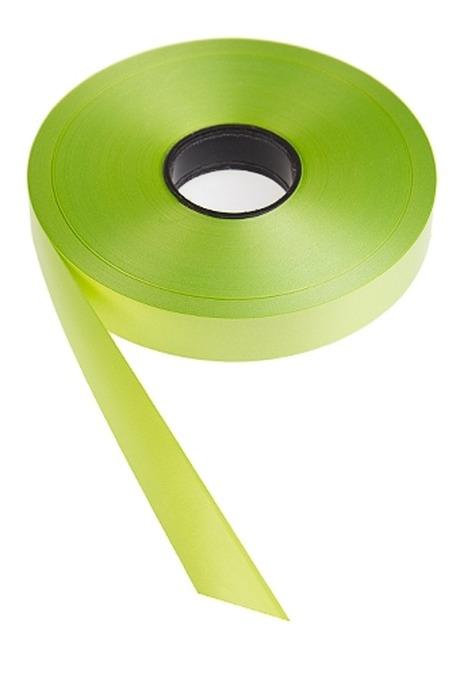 Лента упаковочнаяУпаковочные ленты<br>Ш=1.9см, Дл=1м, полипропилен, салат.<br>
