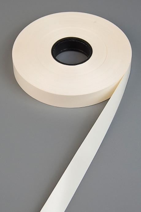 Лента упаковочнаяСувениры и упаковка<br>Ш=1.9см, Дл=1м, полипропилен, слон. кость<br>