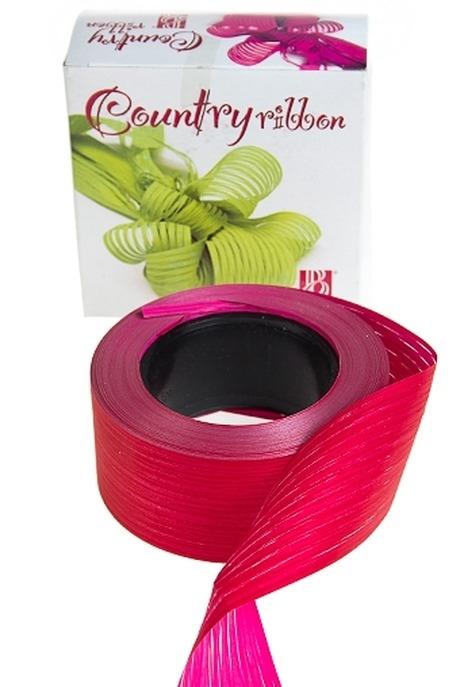 Лента упаковочная ЛапшаУпаковочные ленты<br>Ш=5см, Дл=1м, полипропилен, красно-розовая<br>