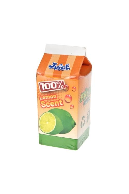 Ластик 100% сокКанцелярские мелочи<br>5.8*2.4см, с ароматом (4 вида)<br>
