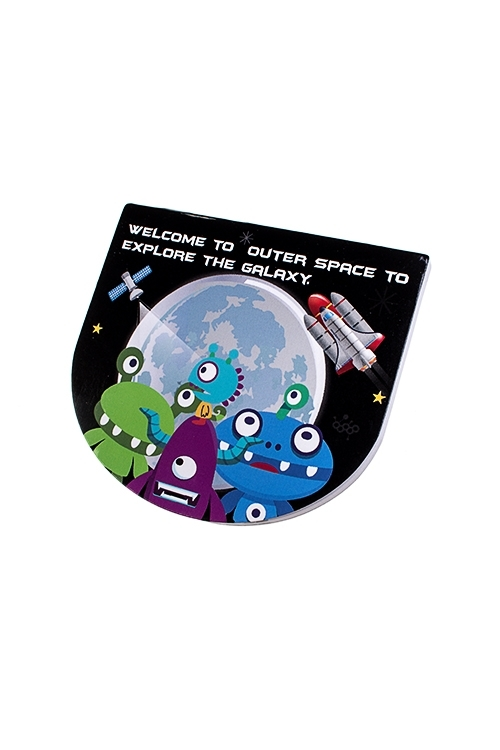 Блокнот В космосУчеба и работа<br>9*8см (4 вида)<br>