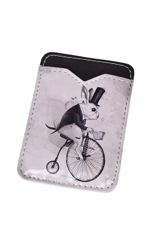 """Держатель для карточки-пропуска """"Следуй за белым кроликом"""" - 1"""