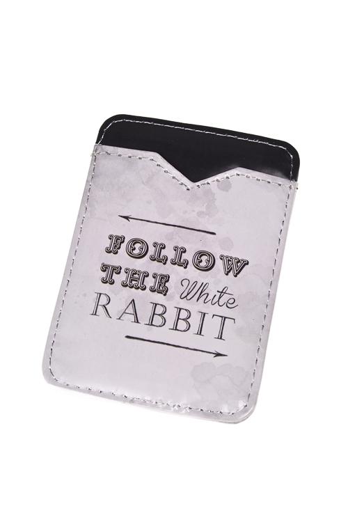 """Держатель для карточки-пропуска """"Следуй за белым кроликом"""" - 2"""