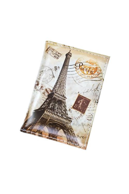 Держатель для дисконтных карт/визиток Прекрасный ПарижПодарки для женщин<br>10.4*7.3см, ПВХ<br>