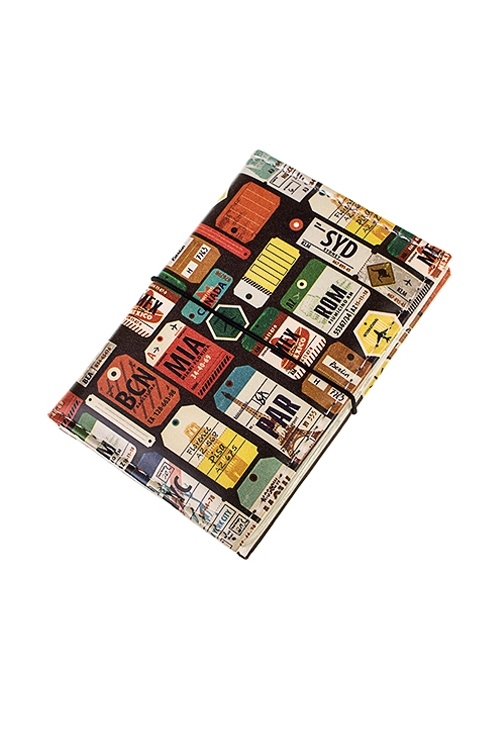 Держатель для дисконтных карт/визиток ПутешествияУчеба и работа<br>10.4*7.3см, ПВХ<br>