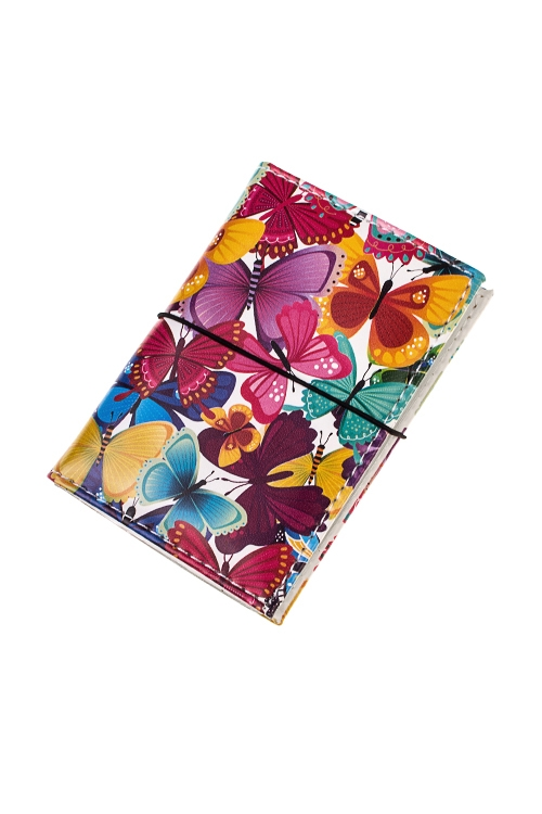 Держатель для дисконтных карт/визиток Трепет бабочекКанцелярские товары<br>10.4*7.3см, ПВХ<br>