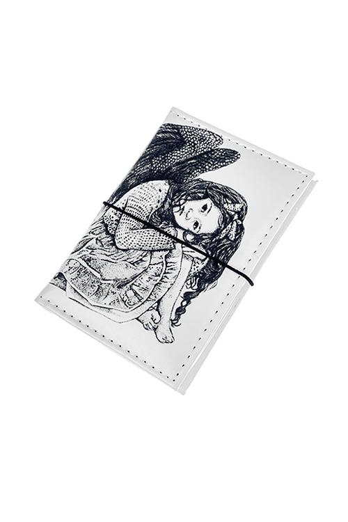 Держатель для дисконтных карт/визиток АнгелОбложки и держатели для карточек<br>10.4*7.3см, ПВХ<br>