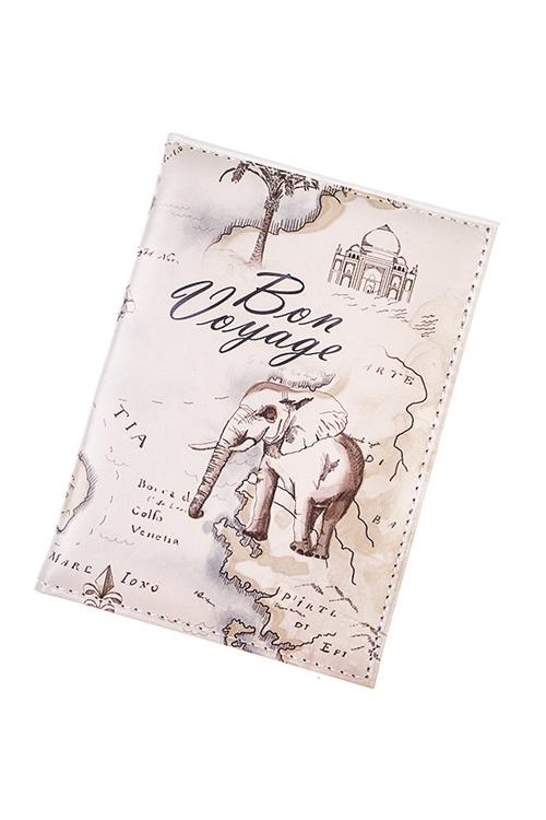 Обложка для паспорта СафариОбложки для паспорта<br>10*13.5см, ПВХ<br>