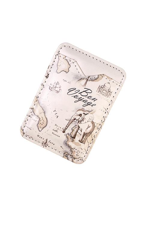 Держатель для карточки-пропуска СафариПодарок путешественнику<br>6.3*9.3см, ПВХ<br>