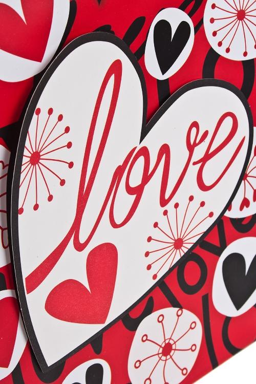 """Пакет подарочный """"Любовь и цветы"""" - 2"""
