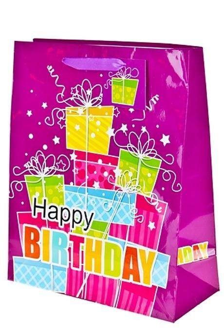 Пакет подарочный Гора подарковСувениры и упаковка<br>11.1*6.4*14.6см бум. с декором<br>