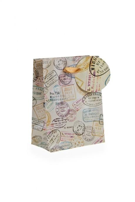 Пакет подарочный ПечатиПакеты на любой повод<br>11.1*6.4*14.6см, бум.<br>