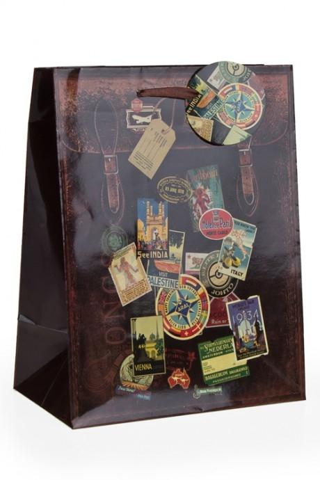 Пакет подарочный МаркиСувениры и упаковка<br>32.3*17.8*40.6см, бум.<br>