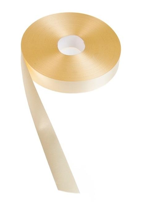 Лента упаковочная ШелкСувениры и упаковка<br>Ш=2см, Дл=100см, желтая<br>