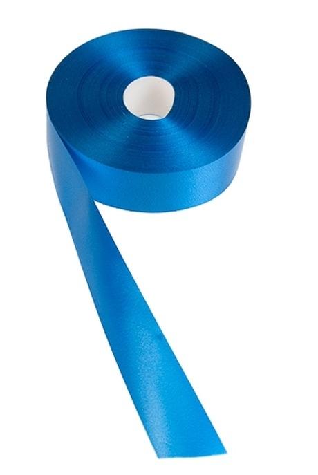 Лента упаковочная ШелкУпаковочные ленты<br>Ш=3см, Дл=100см, синяя<br>