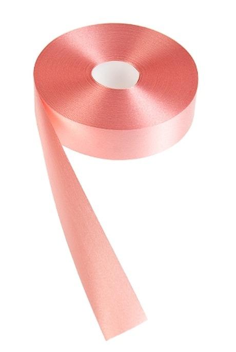 Лента упаковочная ШелкУпаковочные ленты<br>Ш=3см, Дл=100см, персик.<br>