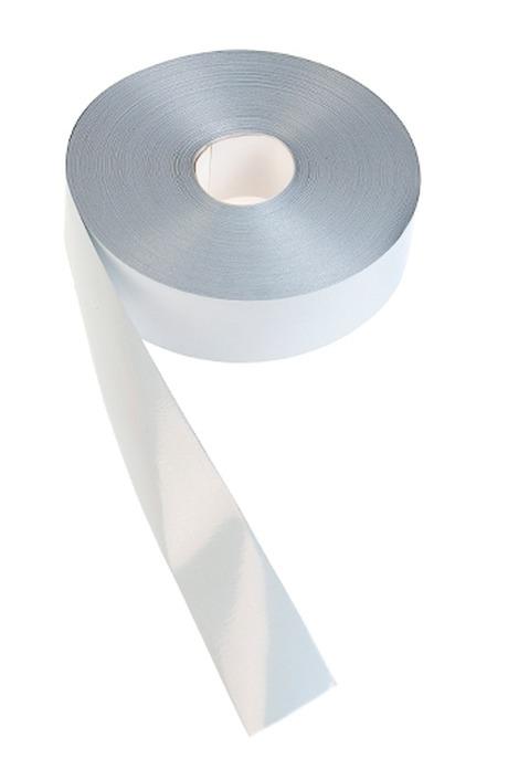 Лента упаковочная ШелкСувениры и упаковка<br>Ш=3см, Дл=100см, белая<br>