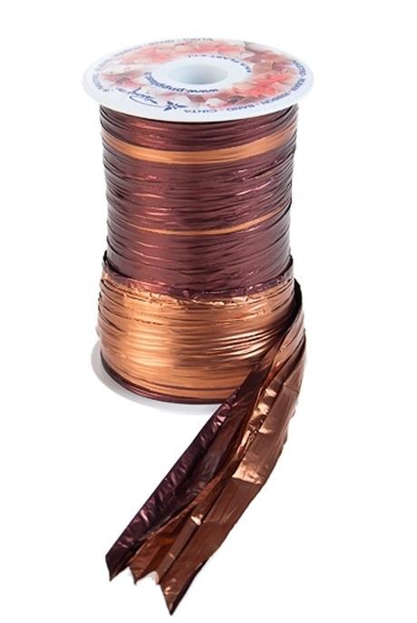 Лента упаковочная ПолисилкУпаковочные ленты<br>Ш=12.5см, Дл=100см, шоколадно-бронз.<br>