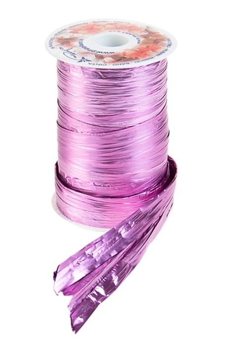 Лента упаковочная ПолисилкСувениры и упаковка<br>Ш=12.5см, Дл=100см, ярко-розовая<br>