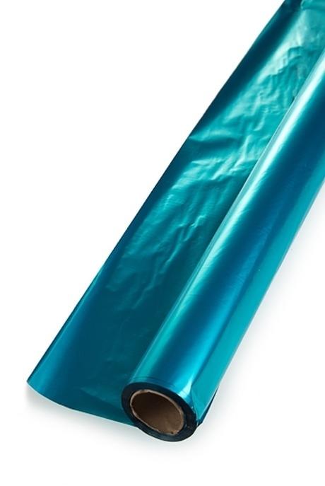 Пленка упаковочная ПолисилкСувениры и упаковка<br>50*50см голубая<br>