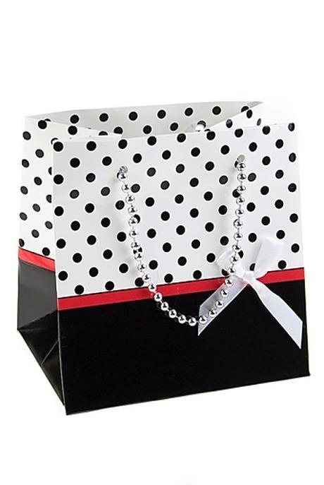 Пакет подарочный ГламурПакеты на любой повод<br>17*13*17см, бум., с декором<br>