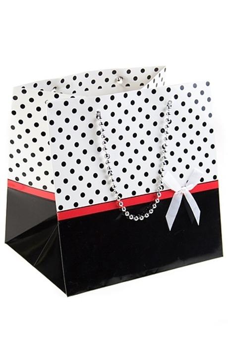 """Пакет подарочный """"Гламур"""" от Красный куб"""
