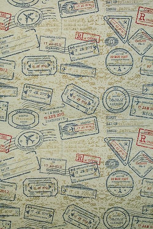 Бумага упаковочная ШтампСувениры и упаковка<br>70*100см<br>