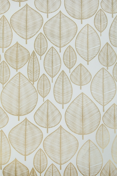 Бумага упаковочная Золотые листикиУпаковочная бумага<br>70*100см<br>