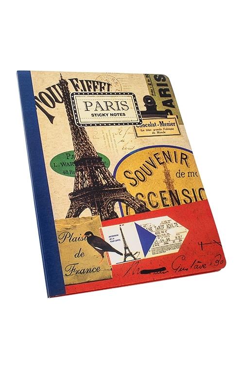 Набор мемо-листков Парижские историиМемо-листики и доски<br>16*21см, 50 листов, бум. (листы 3-х размеров)<br>