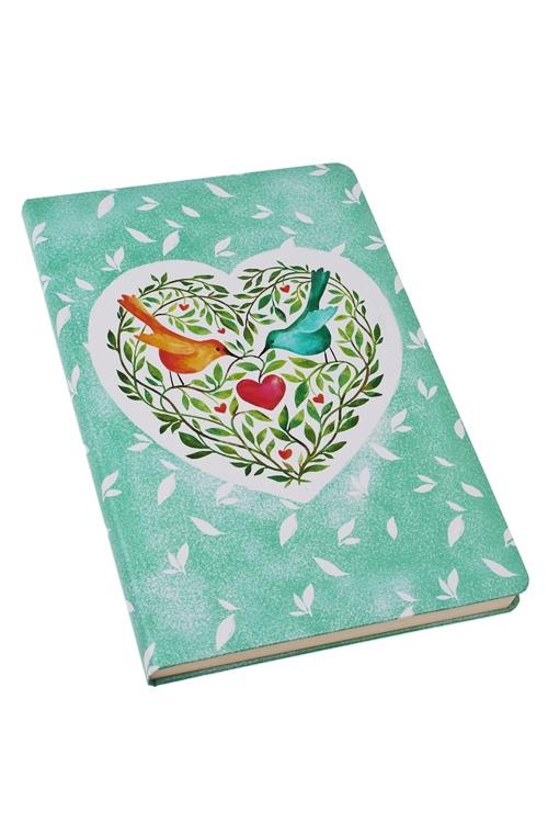 Записная книжка Райские птичкиПодарки на 8 марта<br>14*21см, бум., нелинов.<br>