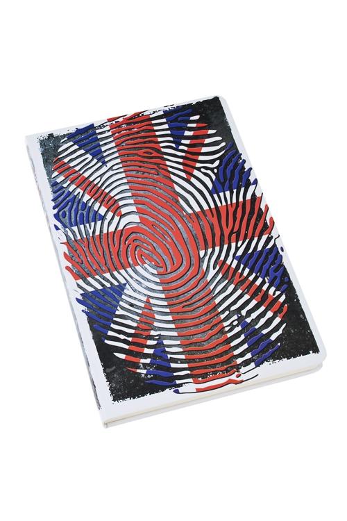 Записная книжка Британский флагУчеба и работа<br>14*21см, бум., 96 листов, нелинов.<br>
