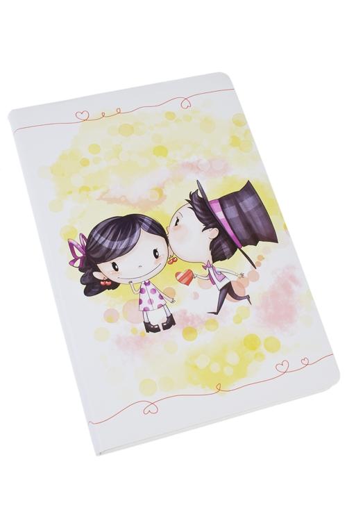 Записная книжка Проявление любвиПодарки ко дню рождения<br>14*21см, 90 листов, бум., нелинов.<br>