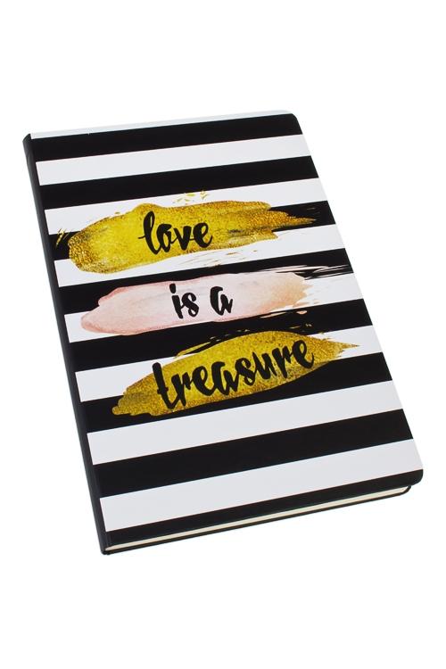 Записная книжка Сокровище для влюбленныхЗаписные и телефонные книжки<br>14*21см, 90 листов, бум., нелинов.<br>