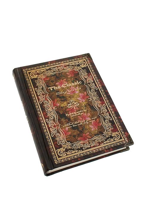Записная книжка Золотая книгаЗаписные и телефонные книжки<br>11*15см, 128 листов, бум., в линейку<br>