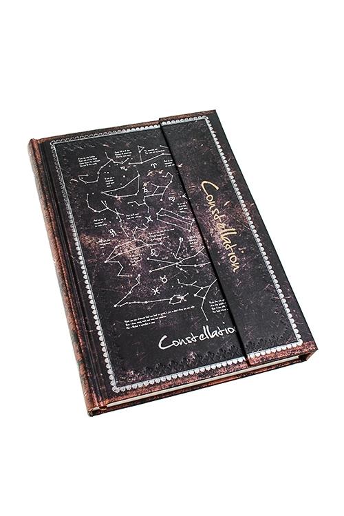 Записная книжка СозвездияЗаписные и телефонные книжки<br>13*19см, 120 листов, бум., в линейку<br>