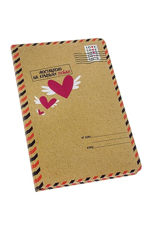 Записная книжка На крыльях любвиЗаписные и телефонные книжки<br>14*21см, 90 листов, бум., нелинов.<br>