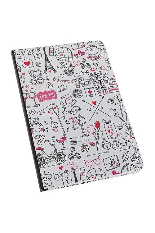 Записная книжка Все о любвиУчеба и работа<br>14*21см, 90 листов, бум., нелинов.<br>