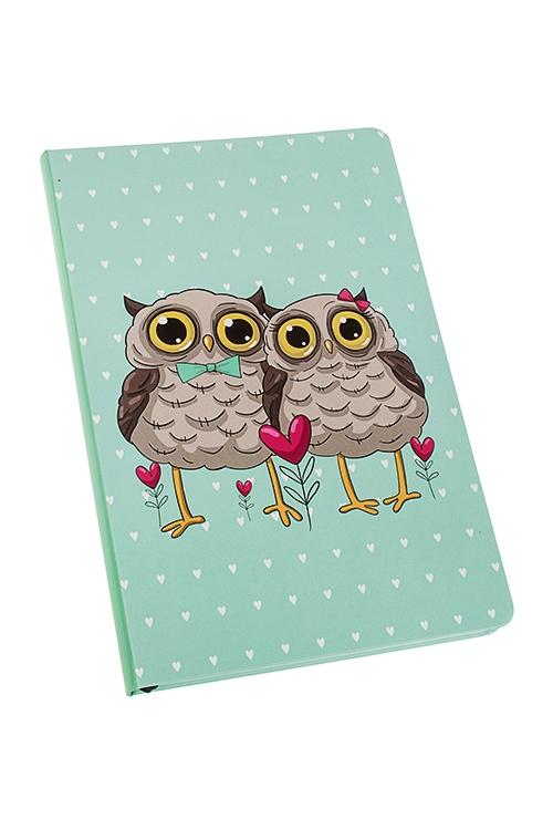 Записная книжка Влюбленные совыУчеба и работа<br>14*21см, 90 листов, бум., нелинов.<br>
