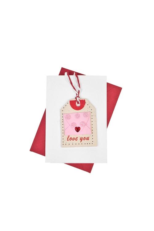 """Открытка подарочная """"Любовное письмо"""""""