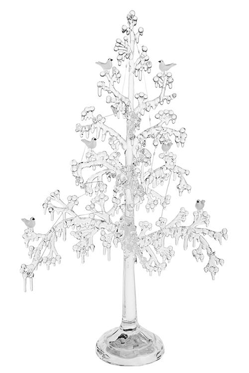 Украшение новогоднее светящееся ЕльЛедяные фигуры<br>31*14*51см, пластм., на батарейках<br>