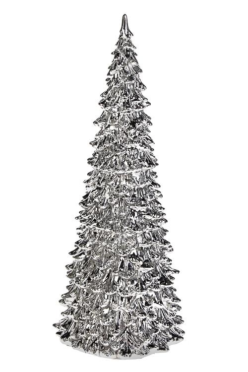 Украшение новогоднее светящееся ЕлочкаИнтерьер<br>11*27см, пластм., на батарейках.<br>
