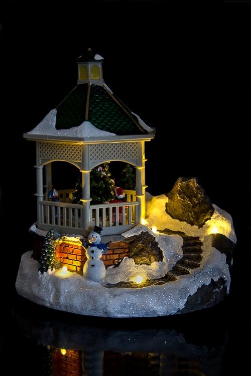 """Украшение новогоднее светящееся """"Дети у елки"""""""