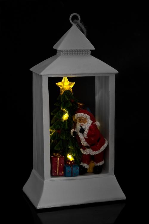 """Украшение новогоднее светящееся """"Дед Мороз у елки"""" от Красный куб"""