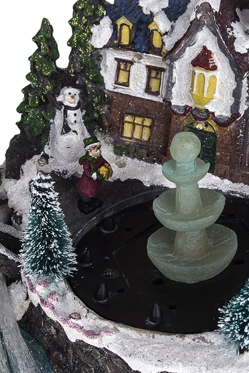 """Украшение новогоднее светящееся с фонтаном """"Зимний сад"""" - 2"""
