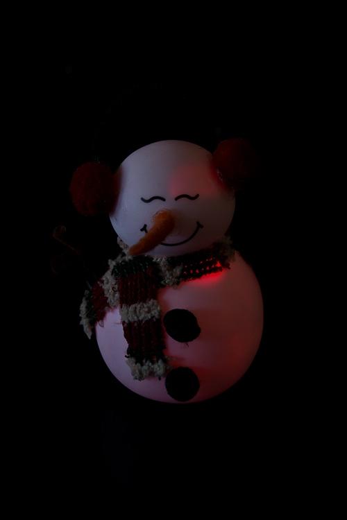 """Украшение новогоднее """"Снеговик в наушниках"""" - 2"""