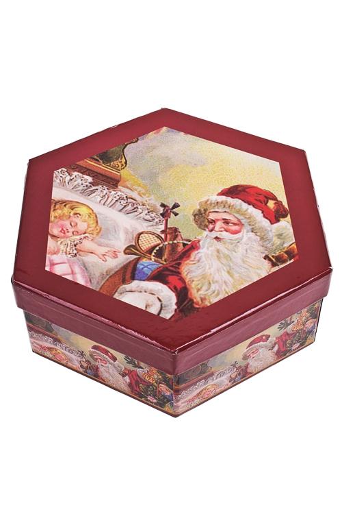 "Набор шаров елочных ""Дед Мороз"" - 2"